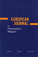 European Journal for Philosophy of Religion