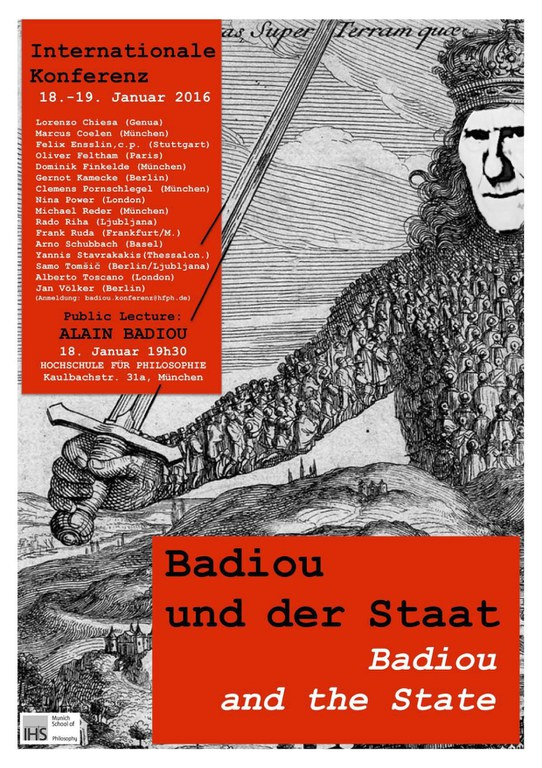 Badiou and the State